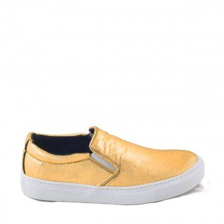 Bare Gold Piñatex vegan sneakers