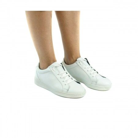 Basic White Vegan Sneakers