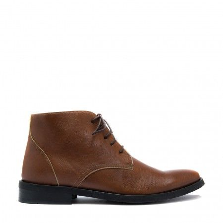 dover brown Vegan Boots