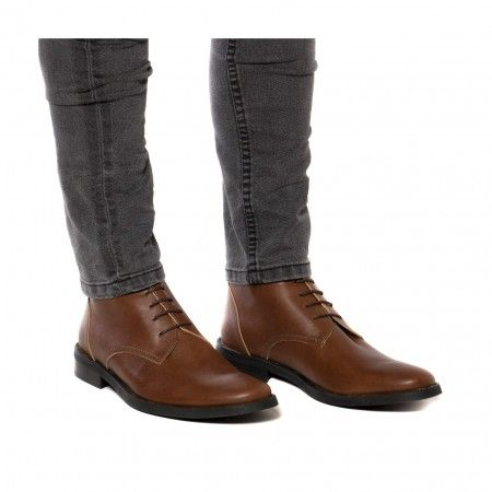 Dover Brown Botas Veganas