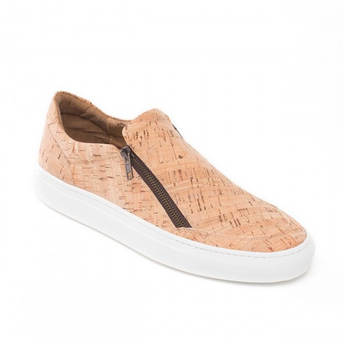 Man vegan shoes cork
