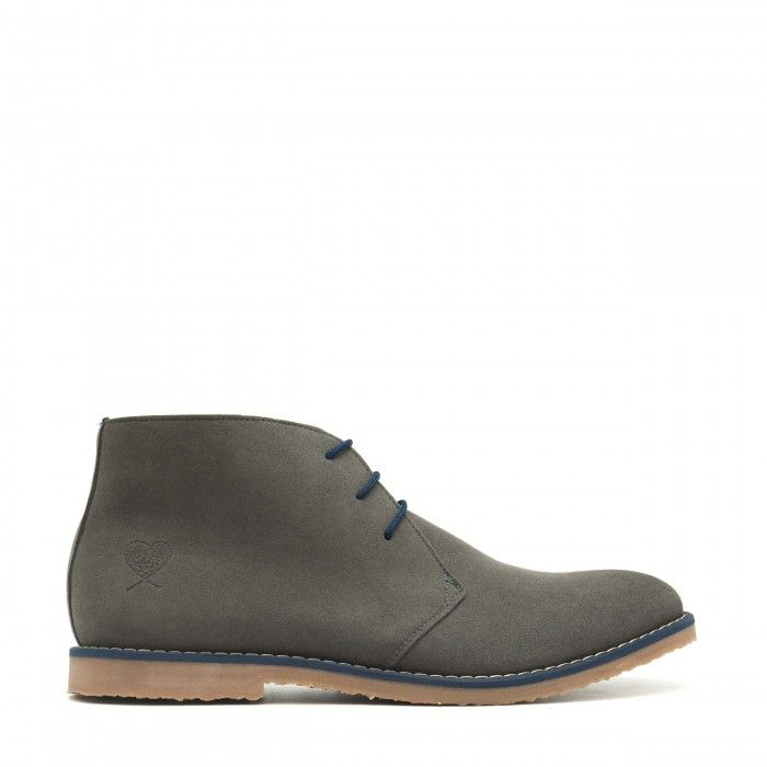 Lagos Grey vegan Boots