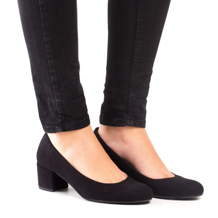 Lina Black Vegan Shoes