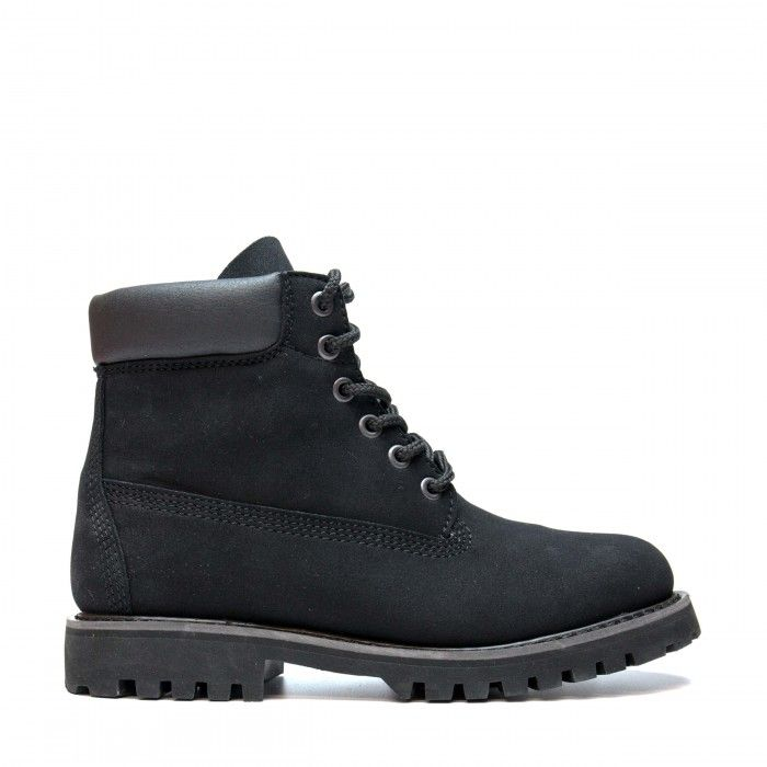 Etna Black Vegan Boots