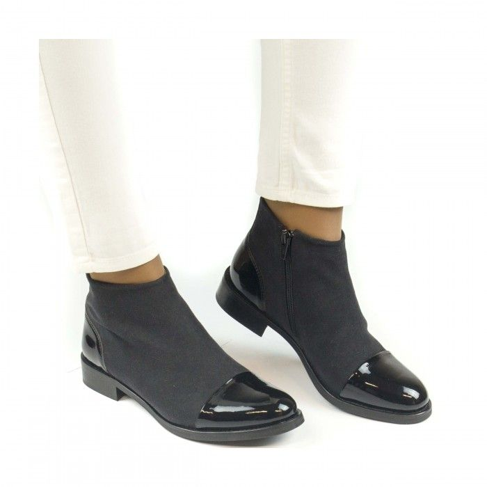 Lorena Black Botte Veganes