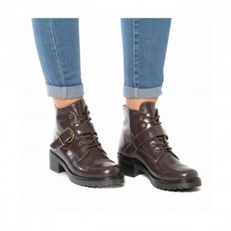 Luce Brown Vegan Boots