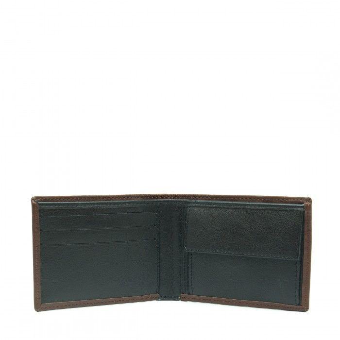 d6b64d474e3 ... lyon brown wallet billfold classic ...