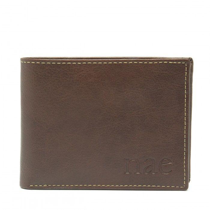 lyon brown wallet billfold classic
