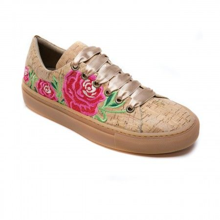 Rose kork Vegane Sneakers
