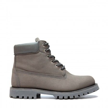 Etna Grey Vegan Boots