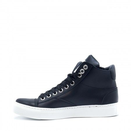 Milan Micro Black Vegan Shoes