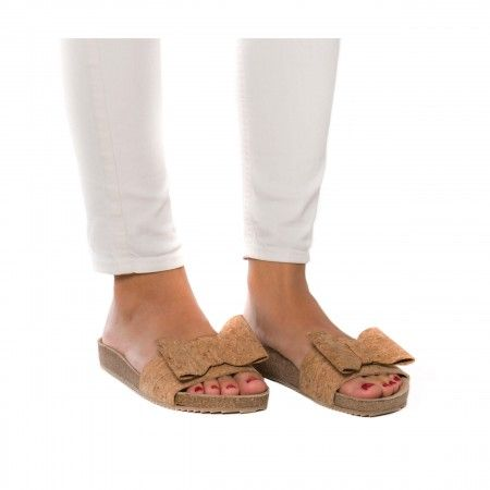 Monik Cork Vegan Sandals