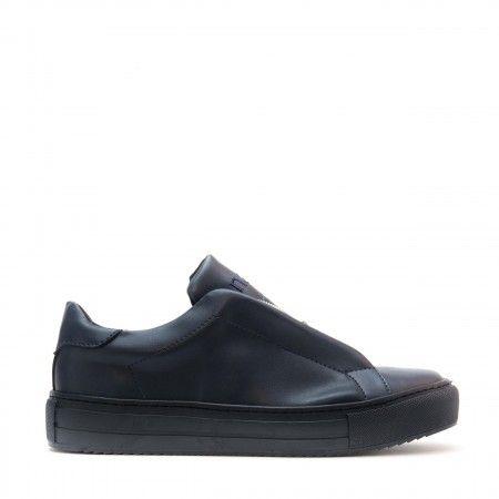 OnZip Blau Vegane Sneakers
