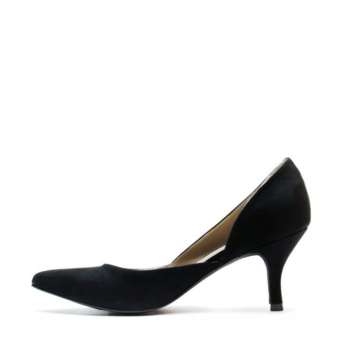 nina black d'orsay shoe for women