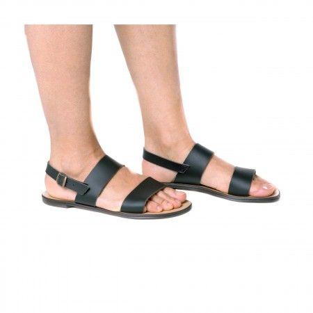 Oxia sandália gladiador rasa slingback mulher vegan