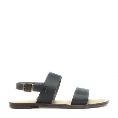 Oxia gladiator sandal flat slingback women vegan