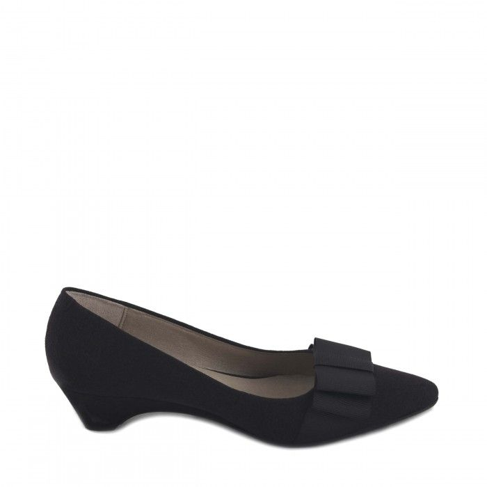 Valentina Black Vegan Shoes