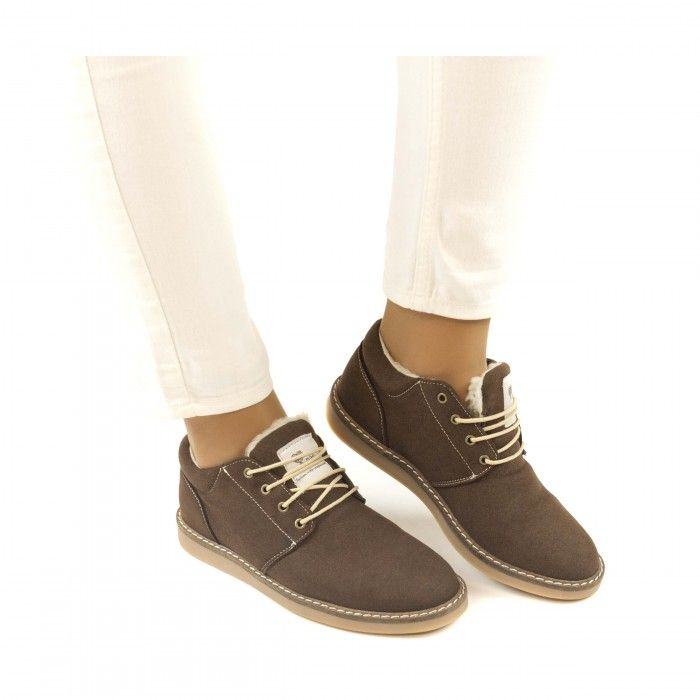 Pipa Brown Vegan Shoes