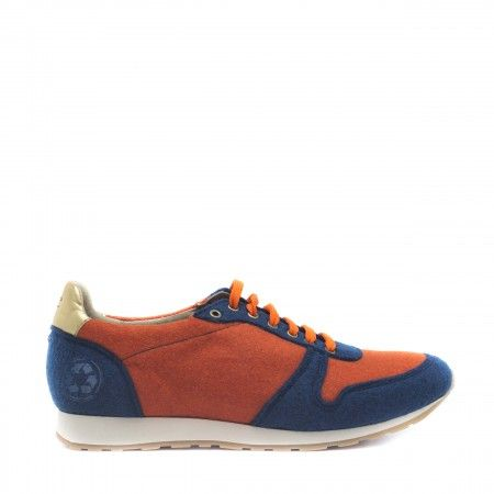 Re bottle Orange Vegan Sneakers