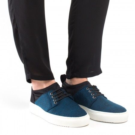 Re PET Blue Vegan Sneakers