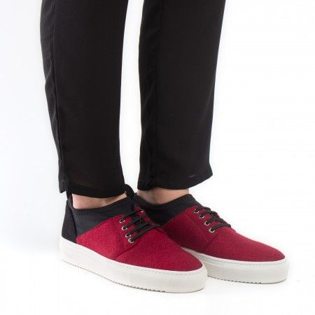 Re PET Red Veganer Sneaker