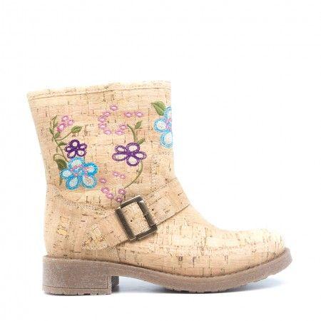 Saka Cork Vegan Boots