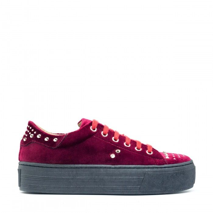 Wika Bordeaux Vegane Sneakers