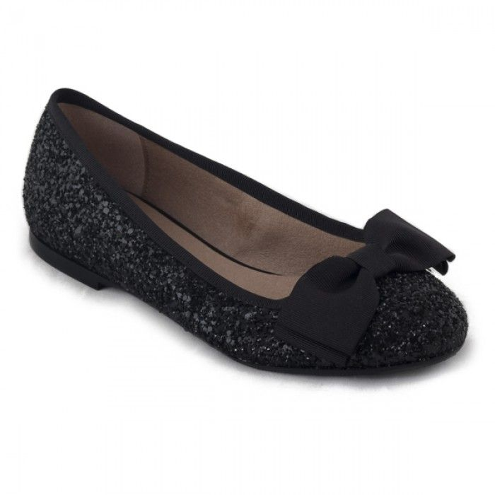 Perla Black Vegan Shoes