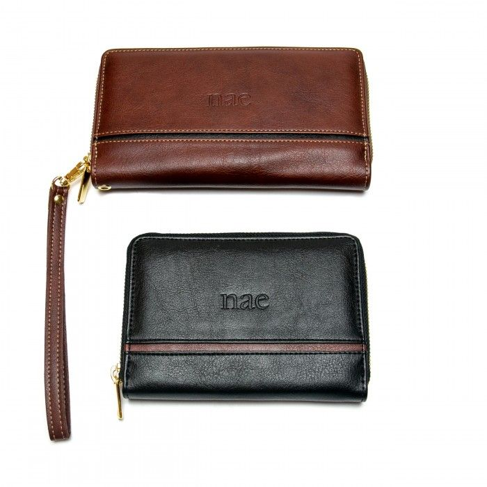 Mia Brown Vegan Wallet