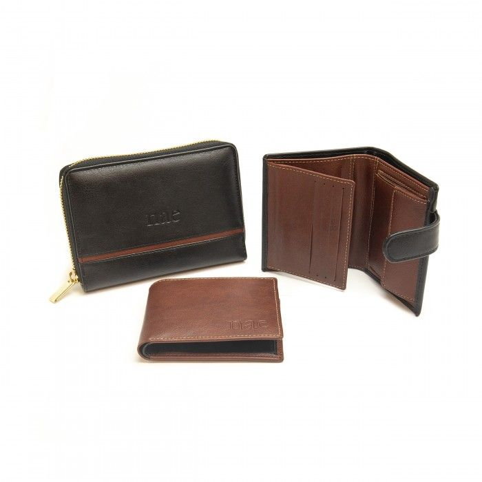 Denver Black Vegan Wallet