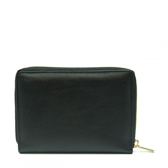 Eva Black Vegan Wallet