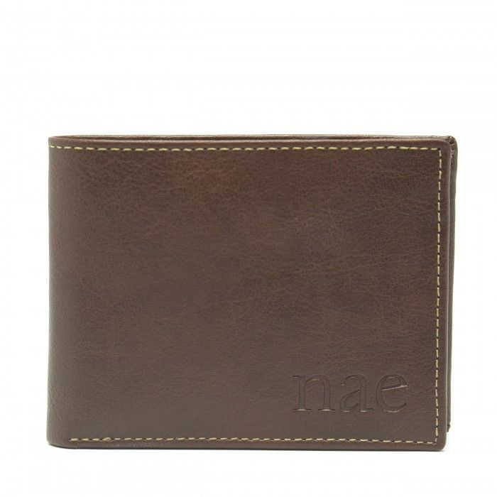 Lyon Brown Vegan Wallet