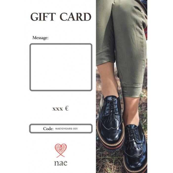 Cartão Presente Vegan