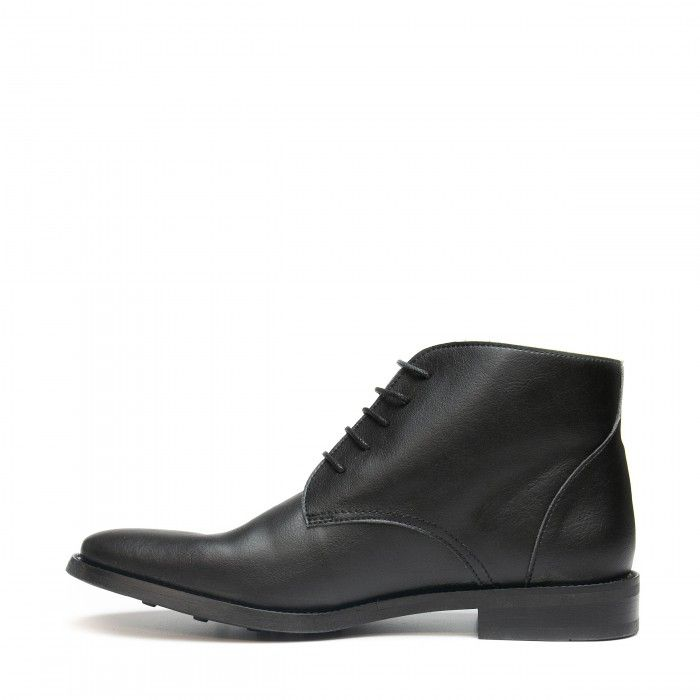 Dover Black Vegan Shoes