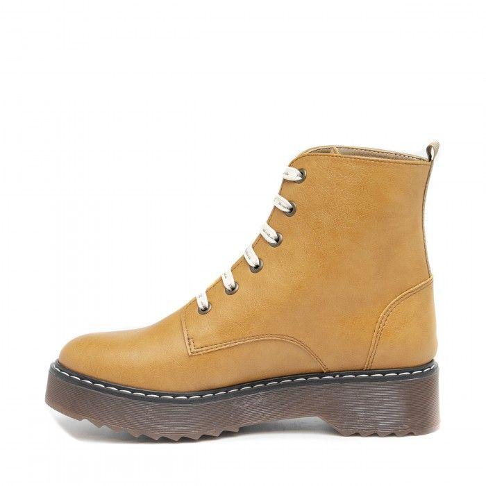 Trina Camel Vegan Boots