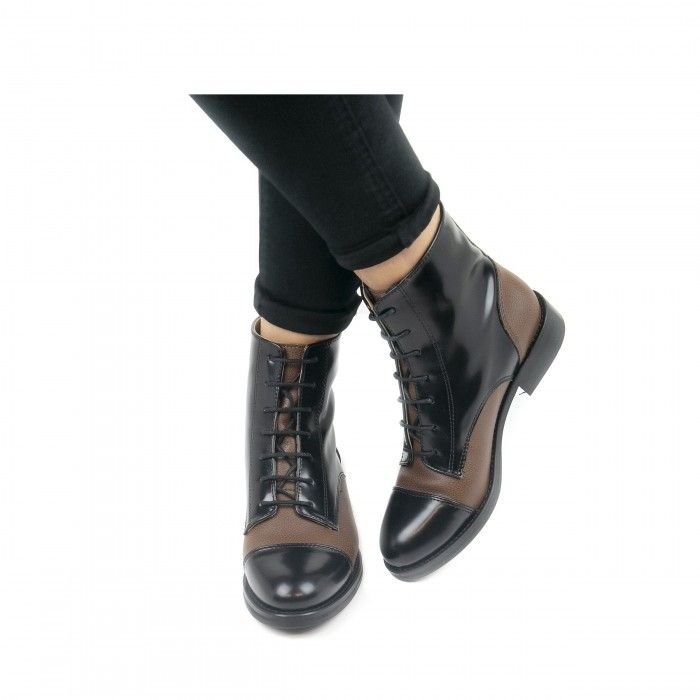 nicol black ankle boots black