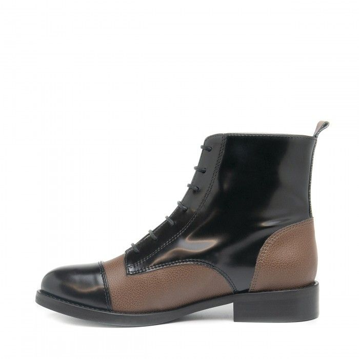 Nicol Black Vegan Boots