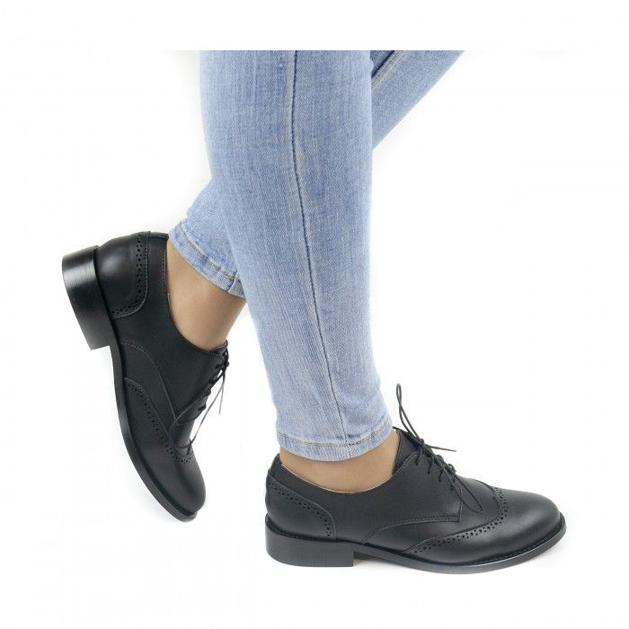 Simone Black Vegan Shoes
