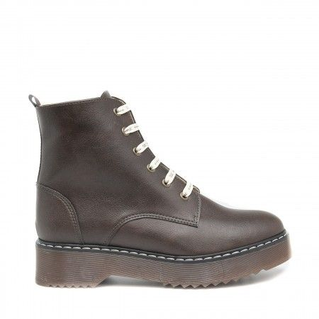 Trina Brown Vegan Boots