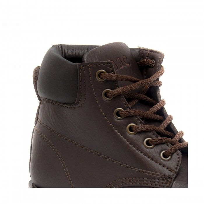 Atka brown bota castanha de montanha unisexo vegan