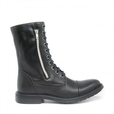 Caleb Black Vegan Boots