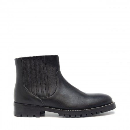 Riley Black Vegan Boots