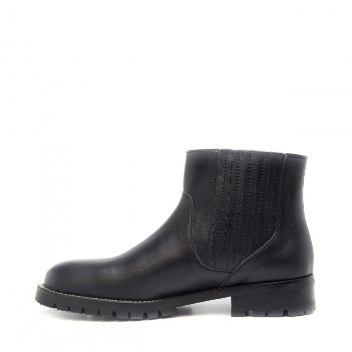 riley black chelsea boots women vegan