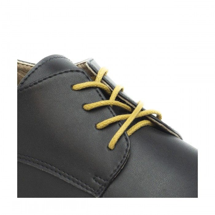 alwin black lace up derby shoes women vegan