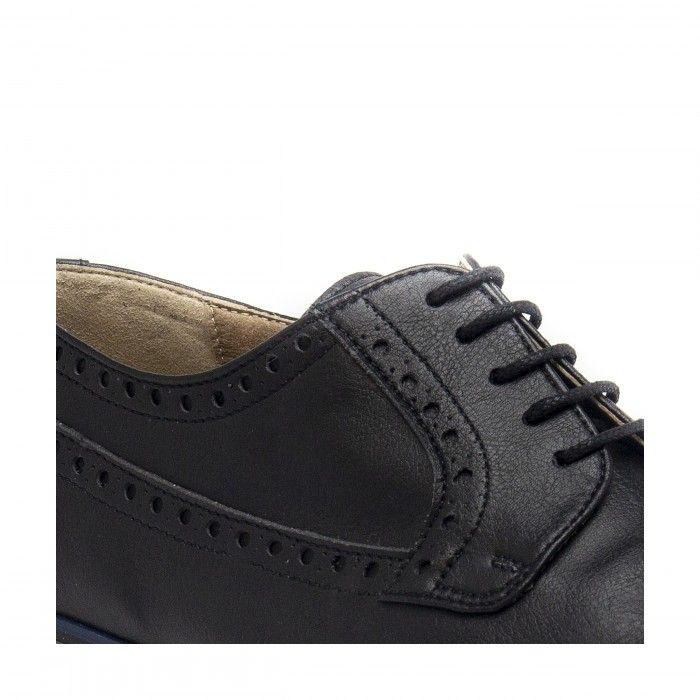 eric black derby brogue shoes men vegan