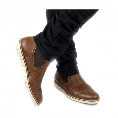 Owen Brown Vegan Boots