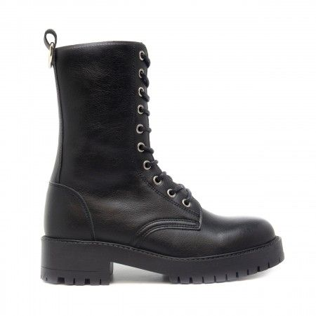Mandy Black Vegan Boots
