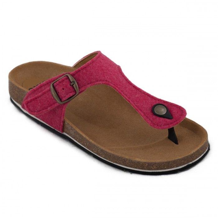 Kos Pink Vegan Sandal