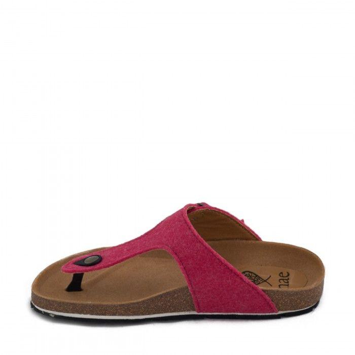Kos Pink thong sandal