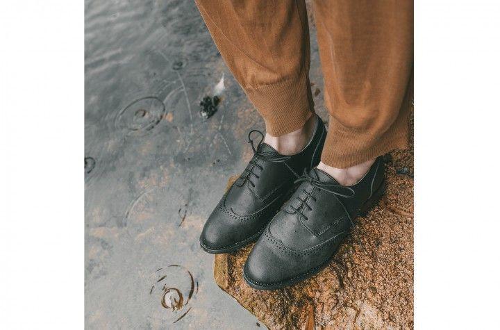 Simone - Zapatos derby atados con cordones